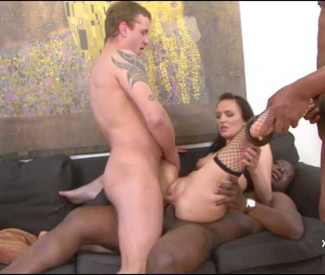 Dp Belle Claire Interracial Gang Bang For A Hot Brunette Mp_snapshot__