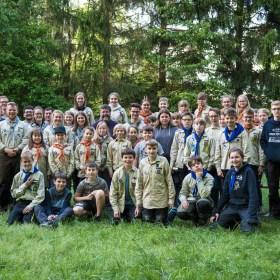 Gruppenfoto DPSG Heimbach-Weis