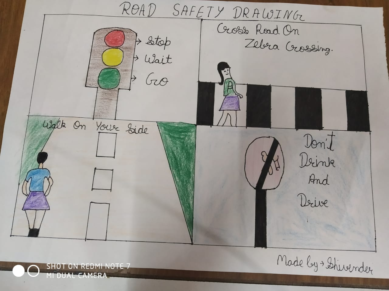 road safety poster making competition