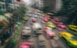 Equal 3rd Place - Bangkok Rush Hour by Nicola Pye