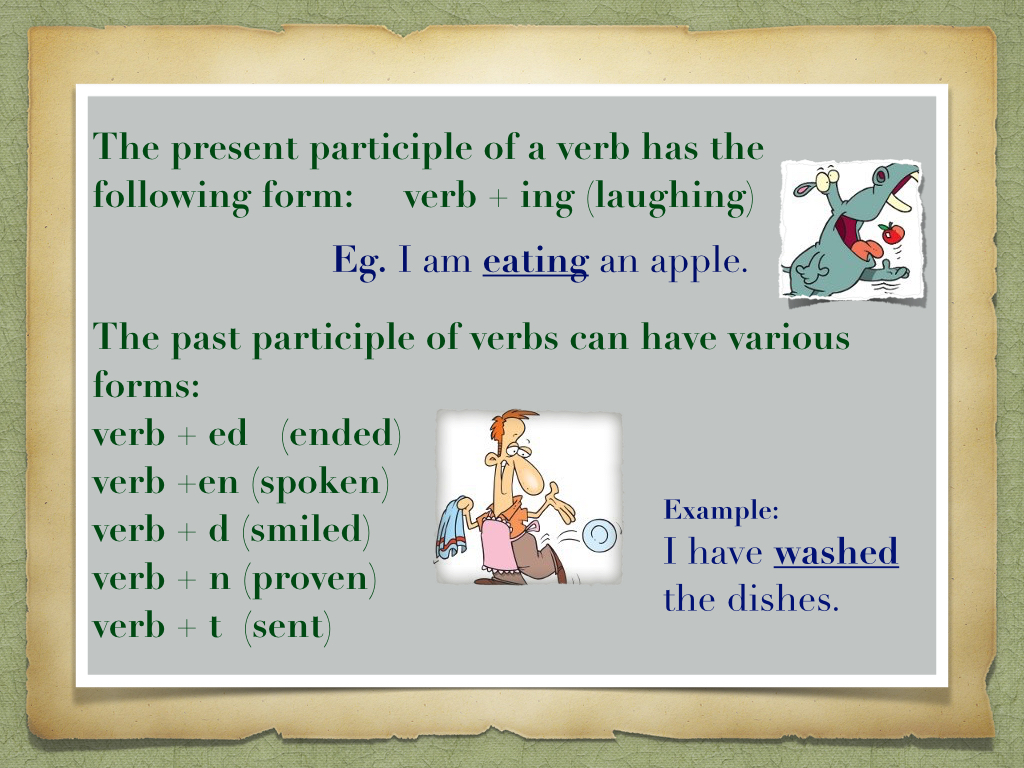 Infinitives Gerund And Participles 5a
