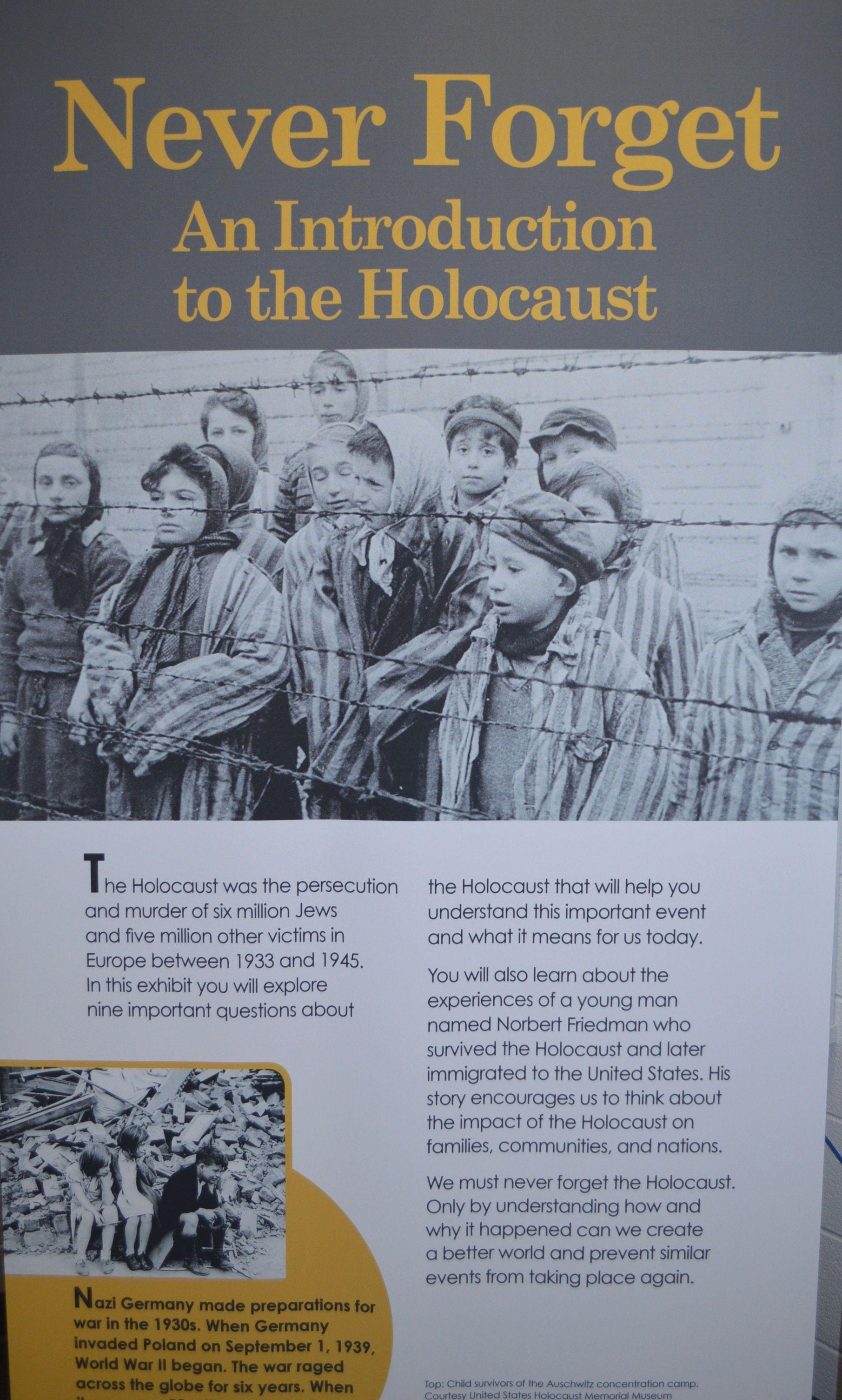Park Creek Utilizes Kennesaw State University S Holocaust