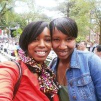 Zeta & AKA (My other real big sis - Indria)