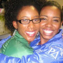 AKA & ZETA: My original freshman sorority sister - Tyna aka SKOOP