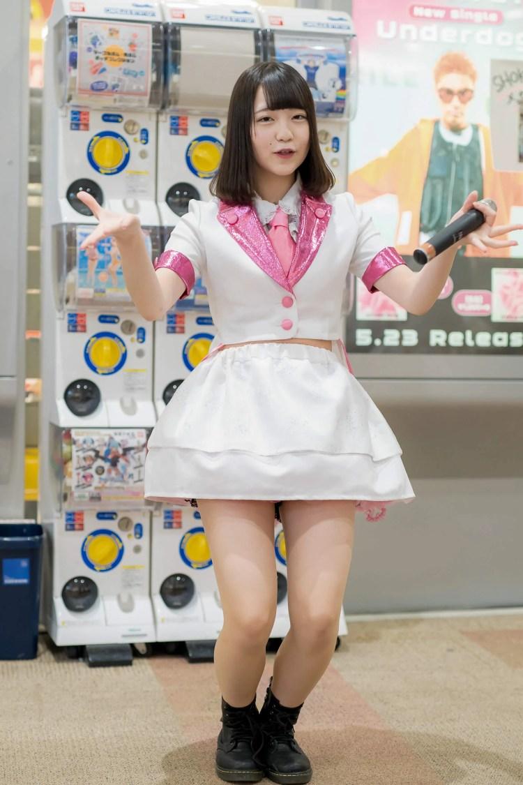 フルーティー♡ きょうか ( 宮崎杏花 )   フルーティー♡メジャーシングル第2弾「FRONT LINER」リリースイベント