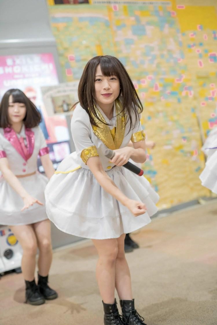 フルーティー♡ さい ( 北出彩 )   フルーティー♡メジャーシングル第2弾「FRONT LINER」リリースイベント