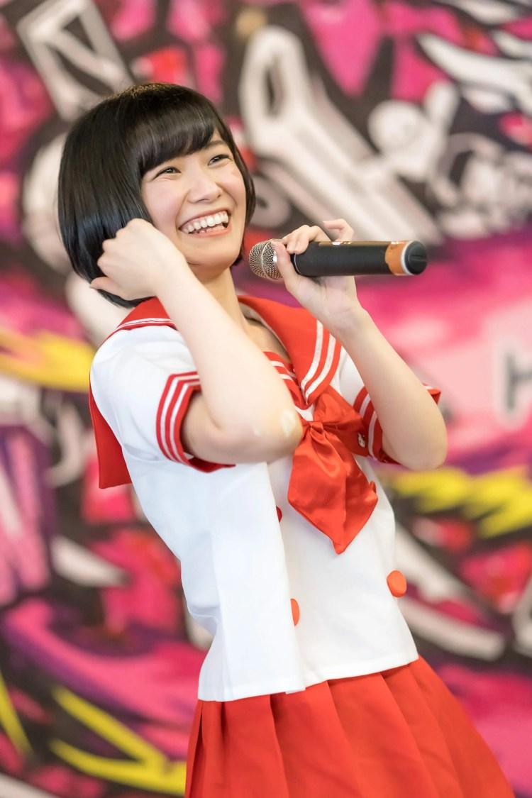 2代目HAPPY少女♪ みっちょ ( 本田みく ) | ディノスパーク×ライブプロ マンスリーLIVE vol.8
