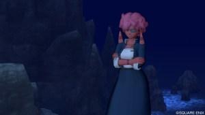 橋上の宿(D-5)にいる不良娘なオガ子さん「バラバ」