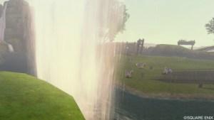 大滝・飛泉の落涙の場所