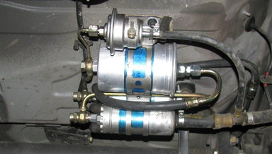 190E 300E 300SE 300SEL Fuel Pressure Accumulator w Manual