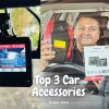 Car Dashcam, Tyre Inflator & Jump Starter – Top 3 Accessories for your car !!