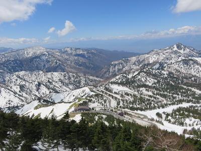 20横手山渋峠スキー場