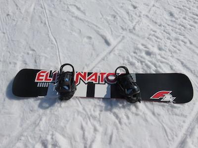 1スノーボードF2 ELIMINATOR