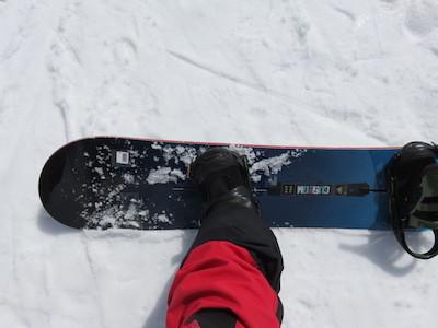 3スノーボードBURTON CUSTOMキャンバー