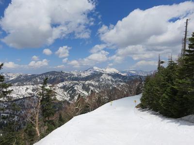 40横手山渋峠スキー場