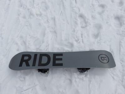 3スノーボードRIDE TIMELESS