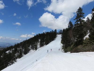 47横手山渋峠スキー場