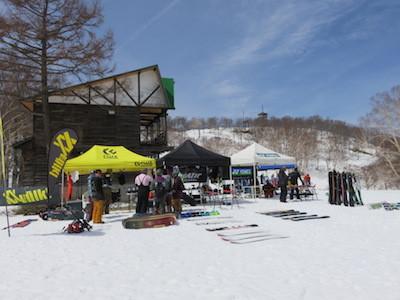 1スノーボード試乗会
