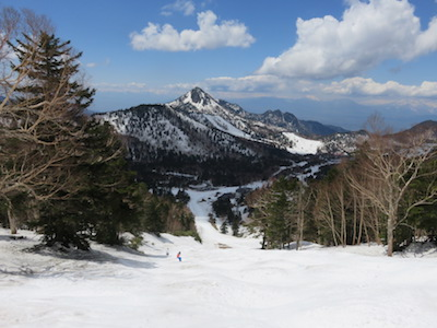 45横手山渋峠スキー場