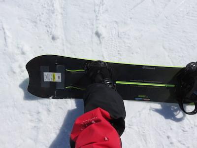 5スノーボードKISSMARK AIRGROOVE