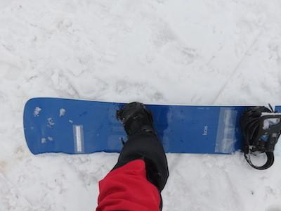 4スノーボードMOSS TWISTER