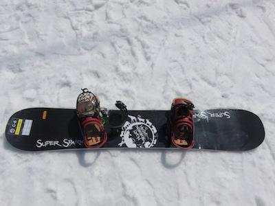 1Noah Snowboarding Japan SUPERSPARK 157