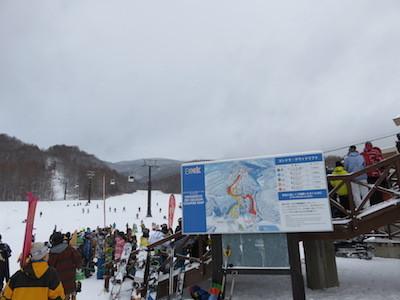 スノーボードグランデコ