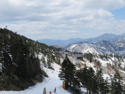 18横手山渋峠スキー場