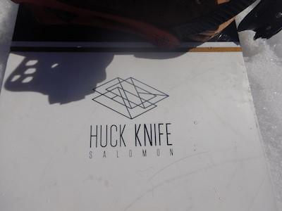 1SALOMON HUCK KNIFE