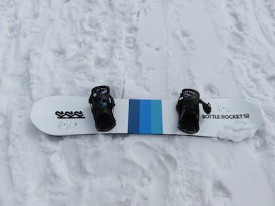2スノーボードK2 BOTTLE ROCKET