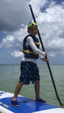 Marco island paddle boarding