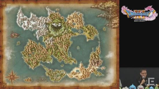 ドラクエ11の世界「ロトゼタシア」マップ