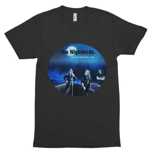 The Nightbirds I Don't Like It themed T-Shirt American Apparel TR401 Unisex Tri-Blend Short Sleeve Track Shirt 00042