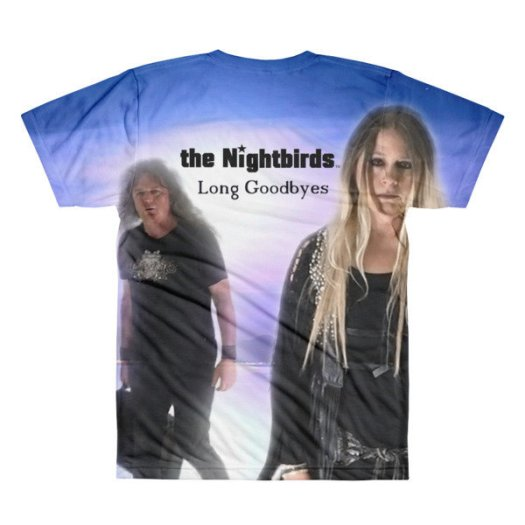 the Nightbirds LONG GOODBYES Men's Sublimation crewneck t-shirt