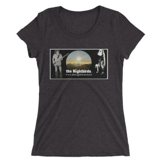 the Nightbirds PIECES (Cover Art Inspired) Ladies' short sleeve t-shirt 00036