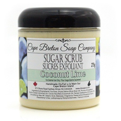 Sugar Scrub - Coconut Lime