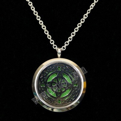 Scent Locket - Celtic Cross