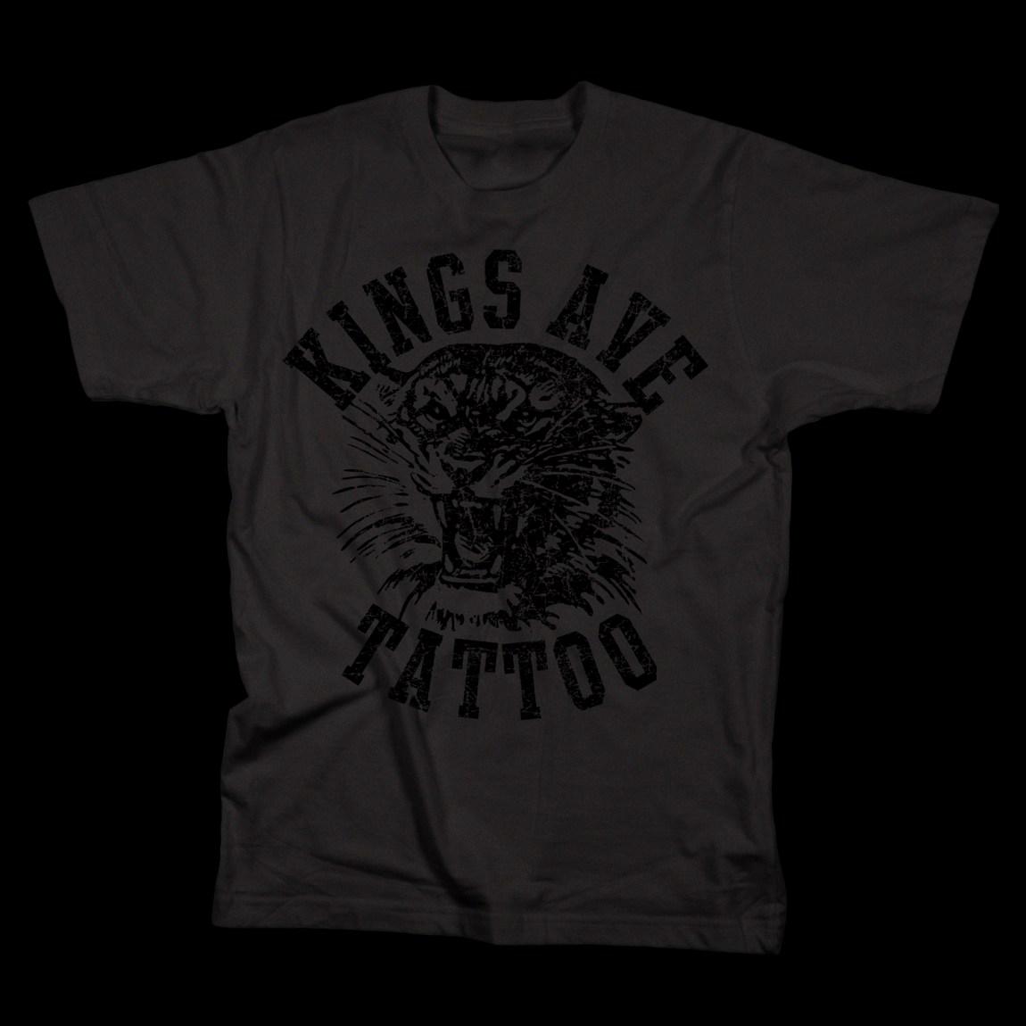 KA Tiger T-Shirt: Black 00011