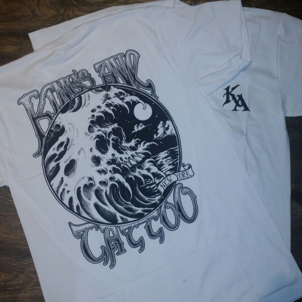 Ode To Irons (Waterskull / White) 00129