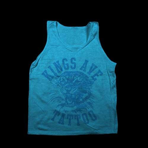 KA Tiger Tank: Neon Blue 00033