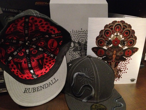 LIMITED EDITION New Era 59FIFTY Baseball Cap by Mike Rubendall (Online Only) 00047