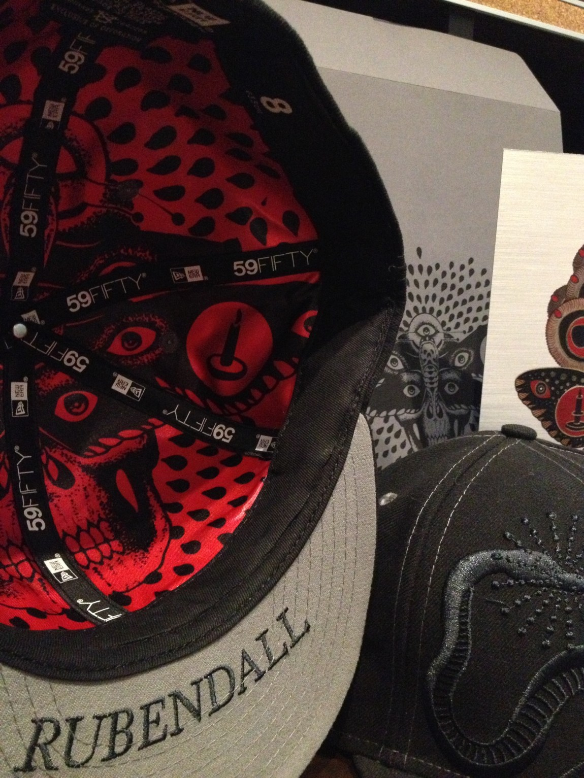 LIMITED EDITION New Era 59FIFTY Baseball Cap by Mike Rubendall (Online Only)