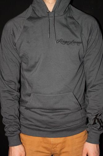 Moth Pullover Sweatshirt: Asphalt Gray