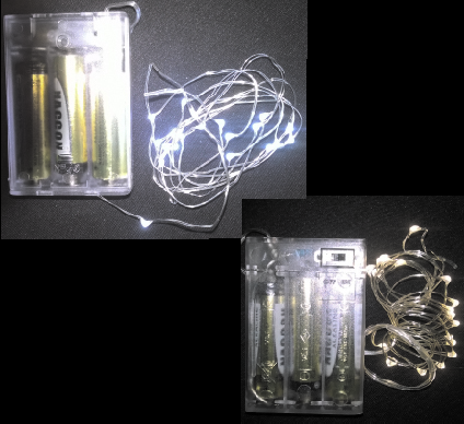 1.5m LED Fairy Battery Light Battery Light