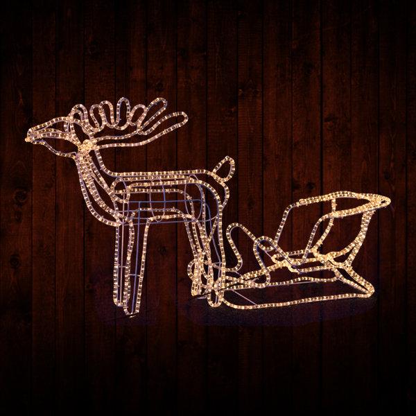 Reindeer and Sleigh ML-RS