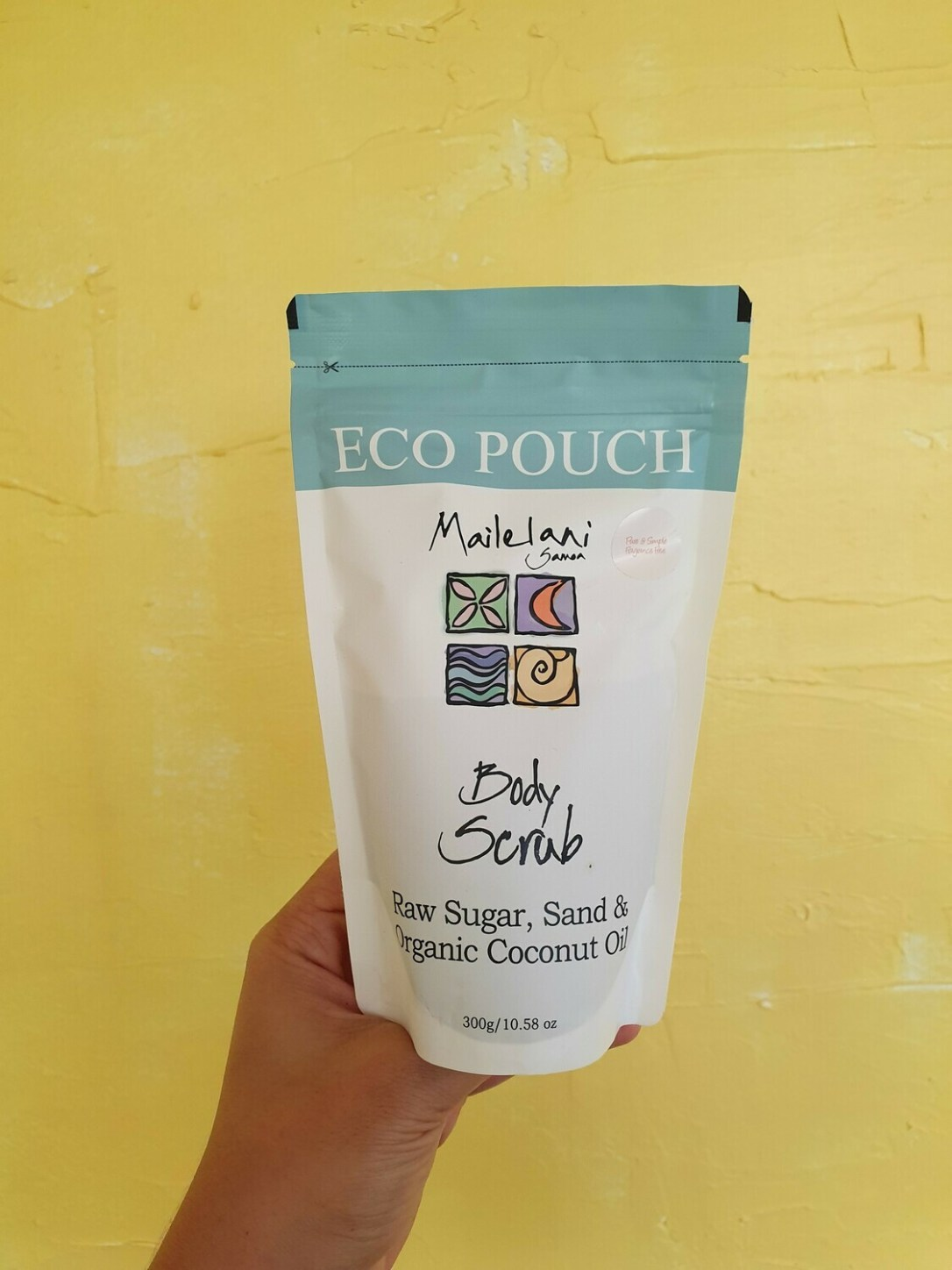 Pure & Simple (Unscented) - Body Scrub - 300gr