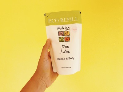Frangipani and Lau Ti- Eco Refill Pouch 300ml Lotion