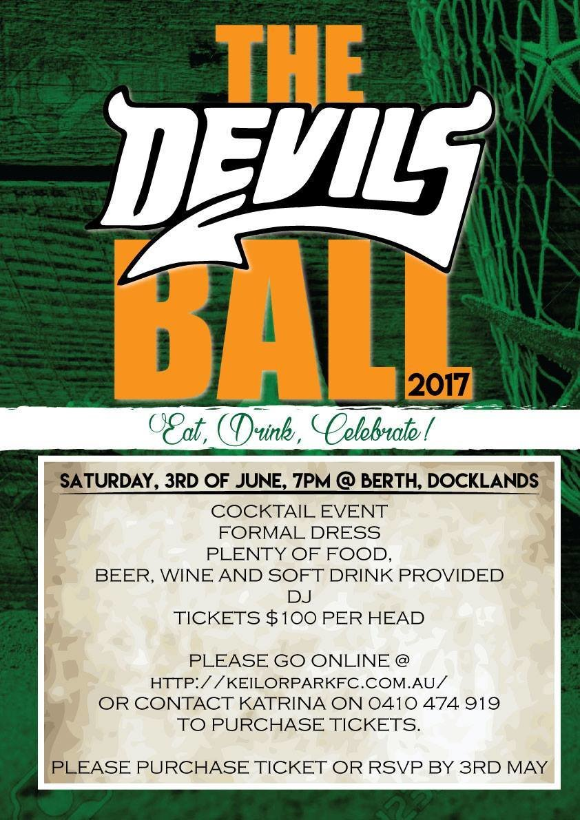 Keilor Park Annual Ball Tickets 00021