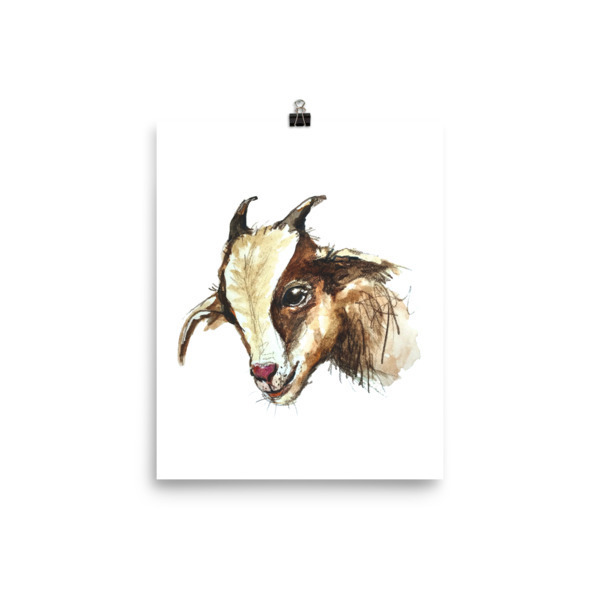 Cheeky Goat Poster 00001