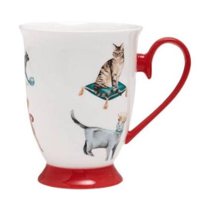 Pampered Cats Mug by Ashdene